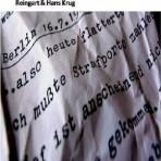 Reingart und Hans Krug: Buchstaben über der Stadt